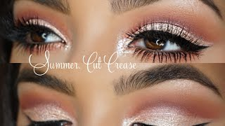 Summer Cut Crease    Get Glam with Gi