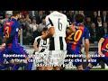 Juventus barcellona  iniesta e l omaggio dello stadium