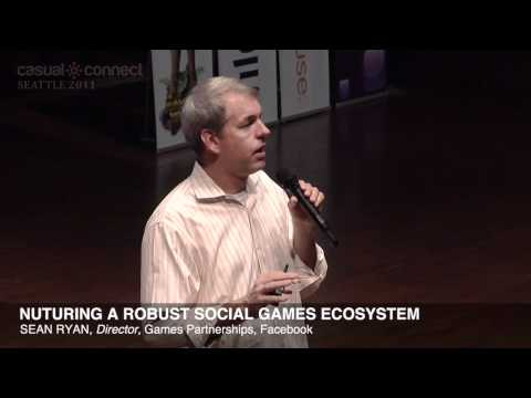 Nurturing a Robust Social Games Ecosystem | Sean RYAN