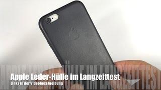 Original Apple iPhone 6/ 6s Leder Tasche im Langzeittest nach 1,5 Jahren