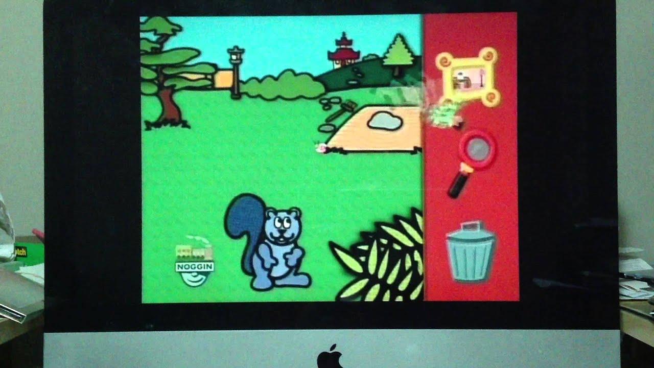 Blue's Clues Skidoo - Computer Game - YouTube