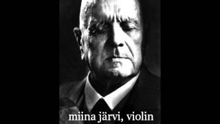 Jean Sibelius - Mazurka op.81 no.1