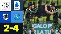 Ex-Leipziger Diego Demme mit entscheidendem Treffer!  Sampdoria - Neapel 2:4 | Serie A | DAZN