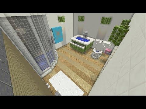 Cache Cache Minecraft Map Salle De Bain Youtube