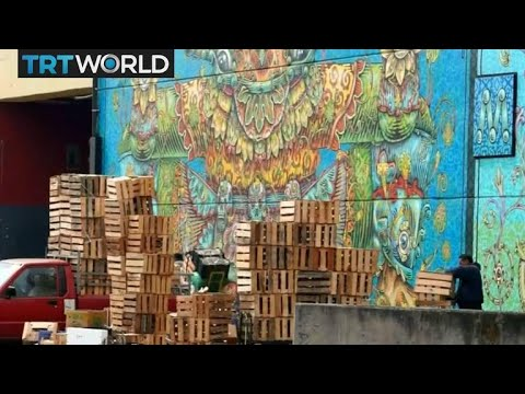 Market Makeover: Street art revitalises Mexico City's market