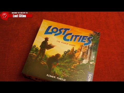 Lost Cities Board Game Video Review