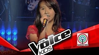 "The Voice Kids Philippines Blind Audition ""Hanggang Ngayon"" by Eufritz"