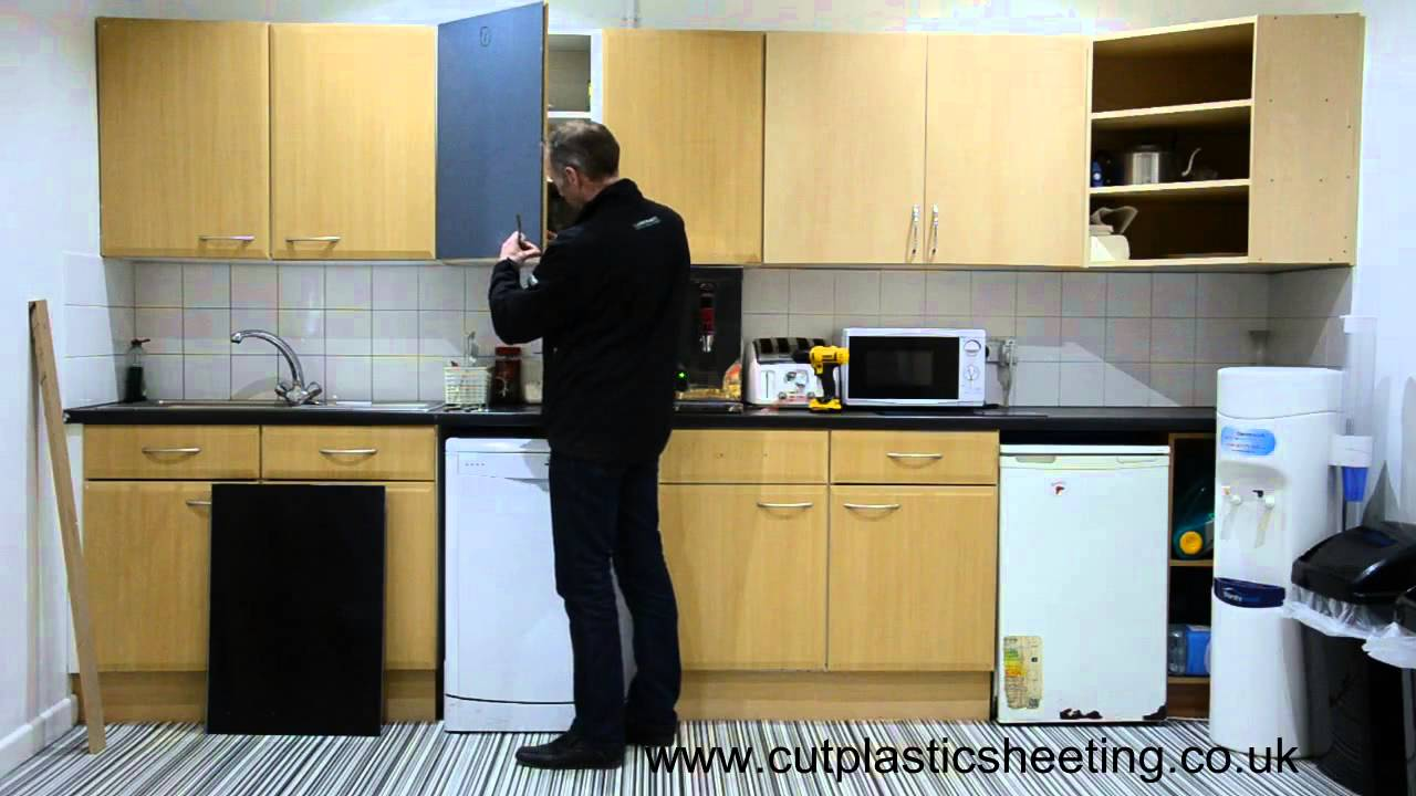 How To Transform Your Kitchen Using Acrylic Perspex Door Fronts - YouTube & How To Transform Your Kitchen Using Acrylic Perspex Door Fronts ...