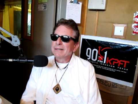 JOE ELY  KPFT radio interview part 1