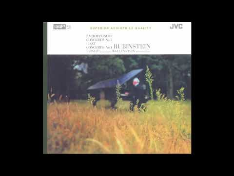 Rachmaninoff / Liszt : Arthur Rubinstein / Reiner, Chicago Symphony (JM-XR24024) 1956/2004