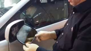 Ремонт зеркала заднего вида на Lexus RX350