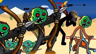 Stick War Legacy Endless Zombies Mode APK : HACK Unlimited Coins - Android GamePlay#8 HD