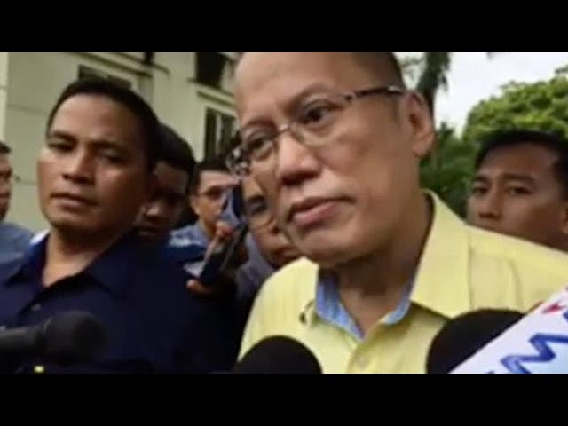 Ex-President Aquino not happy with expletives he received from Duterte