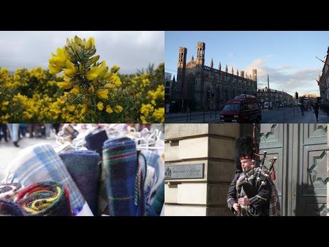EDINBURGH (in a minute)    Travel video
