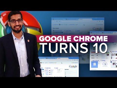 Google Chrome's 10th anniversary