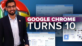 Google Chrome's 10th anniversary