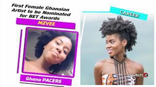 Mzvee   First Ghanaian female artiste nominated for BET Awards