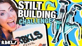 LEGO Stilt Building Challenge! - REBRICKULOUS