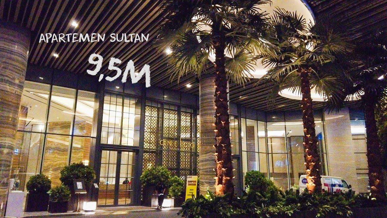 Apartemen Sultan 9,5M! Unit Penthouse Mewah Full Furnished Apartemen One Icon Surabaya