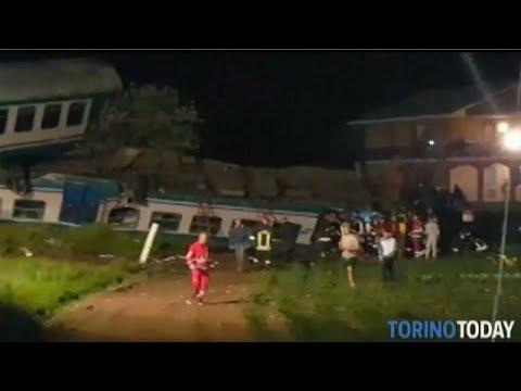 Torino, treno travolge tir: 2 morti, feriti