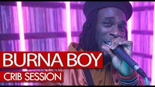 Burna Boy freestyle - Westwood Crib Session (4K)