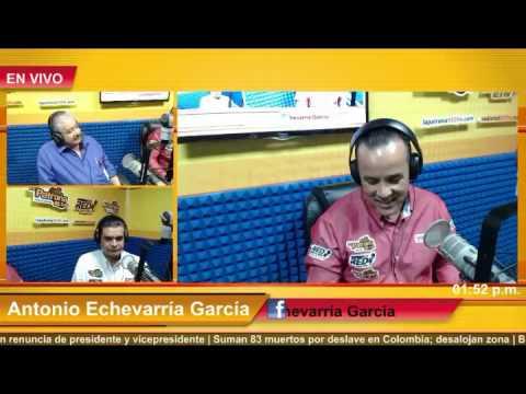 Primera transmisión en Radio Multimedia del Noticiero La Red