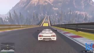 GTAV: Greatest Top Speed Slipstream Close Win on Stunt Race Plummet!