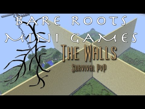 tominabox1 plays Minecraft - Bare Roots Weekly Invitational Challenge: The Walls 1