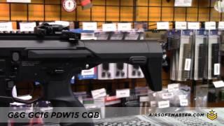 G&G GC16 PDW15 CQB Airsoft Gun Full Metal