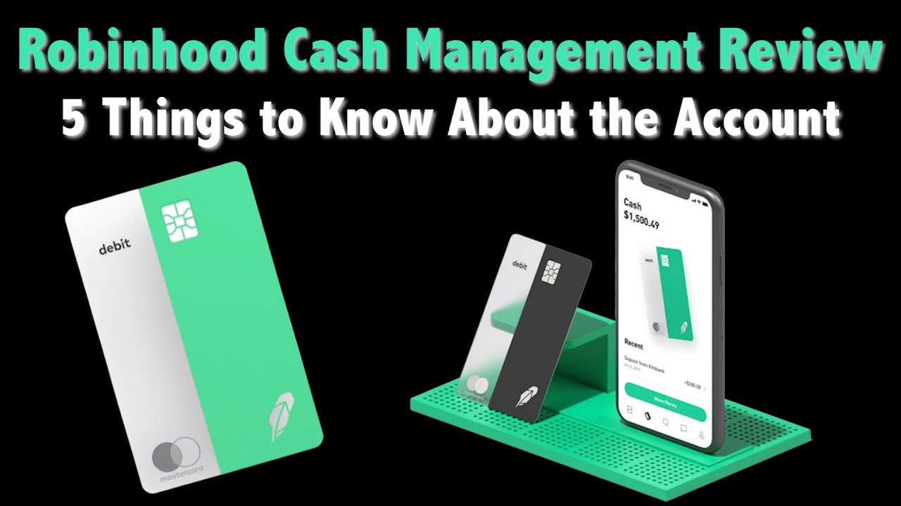 Robinhood Cash Management Debit Card Review The Pros And Cons Youtube