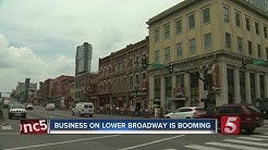 Business Booms On Broadway