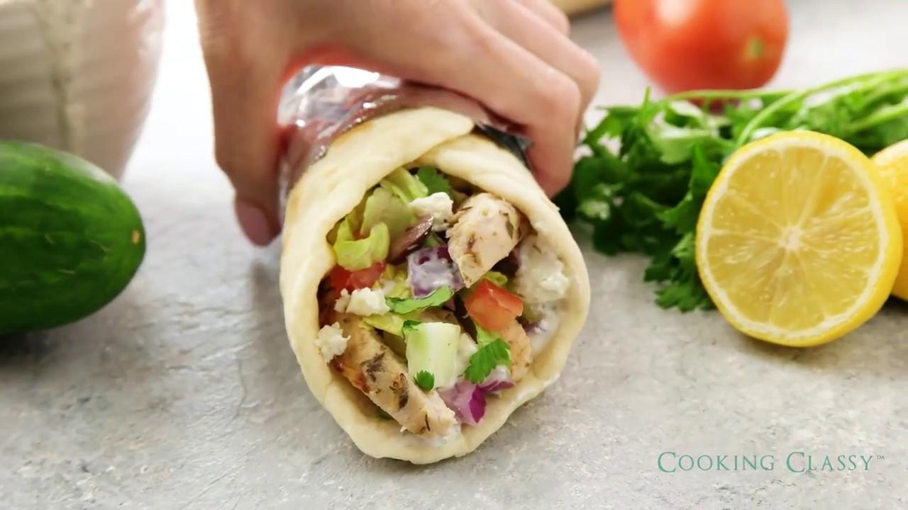 recipe: greek chicken souvlaki wrap recipe [35]