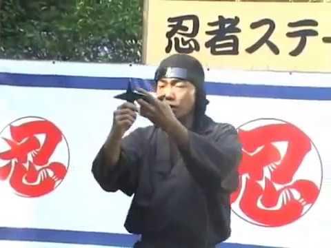 Real ninja and incredible Ninjutsu demonstration