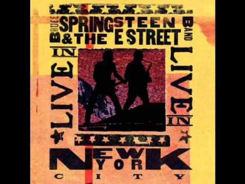 Bruce Springsteen Live in NYC   Lost in the flood