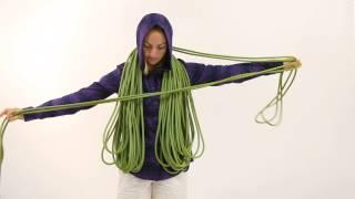 Julie Ellison, Climbing magazine's gear editor, shows the best way ...