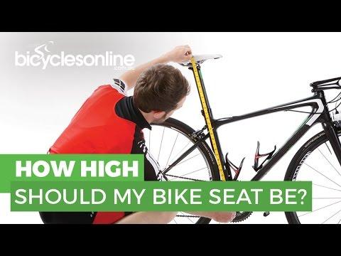 01eb8493dd2 How High Should My Bike Seat Be? - YouTube