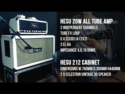 HESU Little Bastard 20W with HESU W212 - playthrough by Simon.