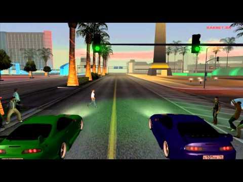 Gta San Andreas по сети! Играй на RakNet RP!