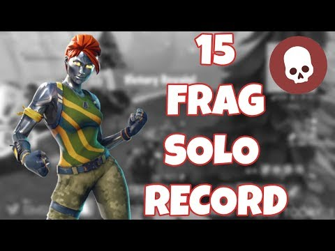 15 KILL SOLO RECORD | Highest Kill Game in North West London  | Fortnite Battle Royale Gameplay