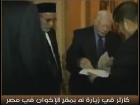 """عاااااجل وحصري - الجيش يعرض فيديو توقيع """"مرسي"""" صفقة بيع سيناء لـ """"كارتر"""""""