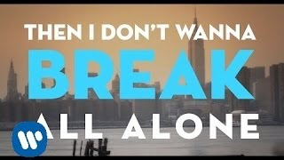 Christina Perri - I Dont Wanna Break [ Lyric ]