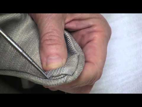 How to Sew a Zipper in a Pillow with Piping - Part 3