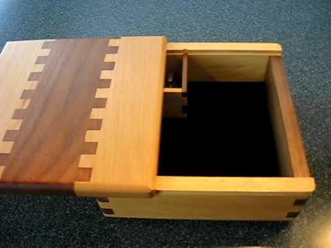 Keepsake music jewelry box by WoodenFingerprints