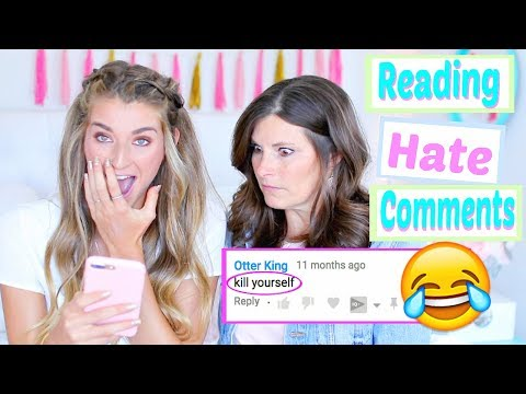 Reading  HATE Comments With My MOM! SHES TRIGGERED