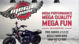MM-B212-BR Mini Bike Assembly Instructions