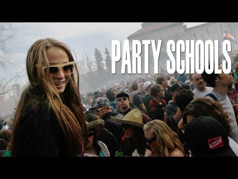 How Hard Does Your School Party?