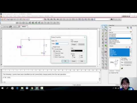 การเขียนวงจรโดยใช้โปรแกรม OrCAD Capture CIS Lite2