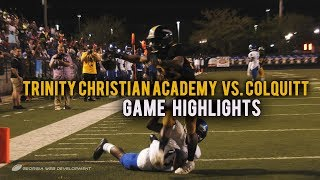 Trinity Christian Academy (FL) vs. Colquitt (GA) 2019 | High School Football Game Highlights