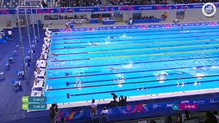 Andrew Abruzzo Is First In The Men's 400m Freestyle   Pan American Games Lima 2019