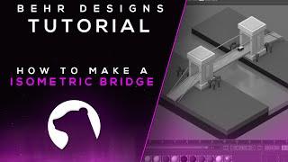 Tutorial: Isometric Bridge (Cinema 4D) - Behr
